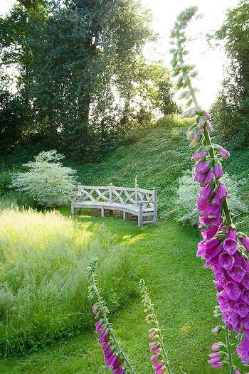 Country Garden In England