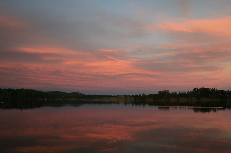 Sunset over Lake Macdonald