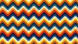interesting dimensional pattern