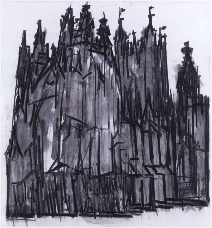 charcoal cathedral - Dennis Creffield