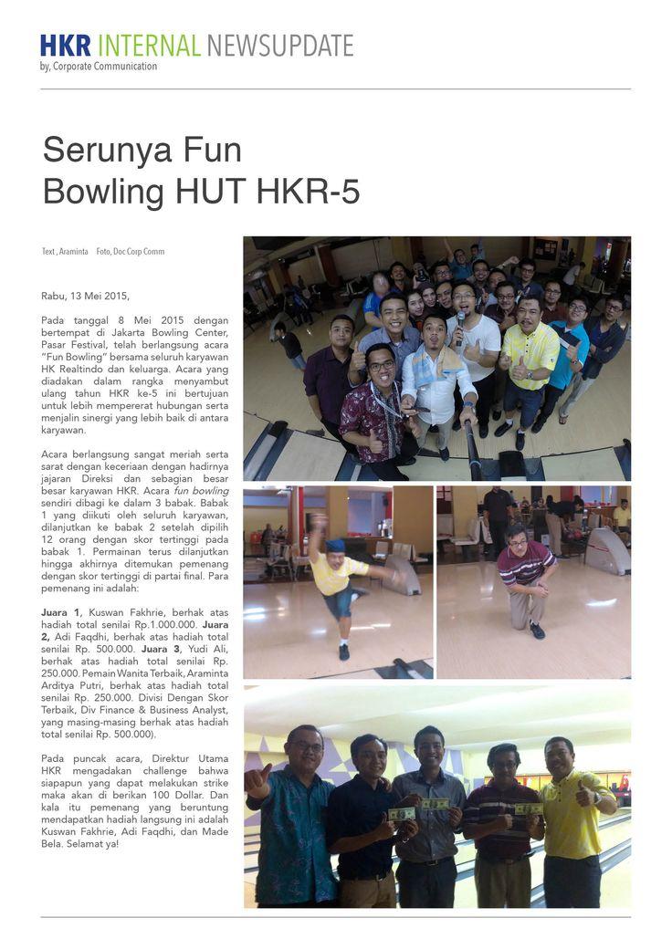 Serene FUN BOWLING HUT HKR ke-5