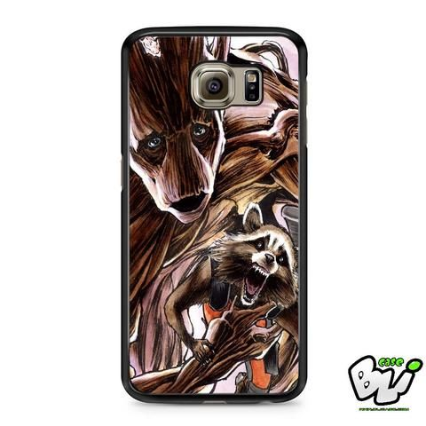 Groot Guardians Of The Galaxy Samsung Galaxy S6 Case