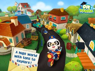Dr. Panda's Mailman | Game Application Reviews For Kids Full HD