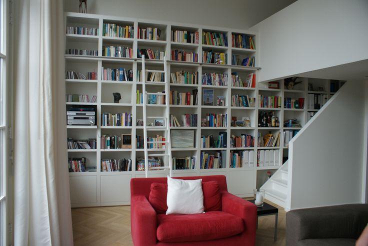 11 beste afbeeldingen over moderne boekenkasten op maat modern bookshelves op pinterest - Moderne boekenkast ...
