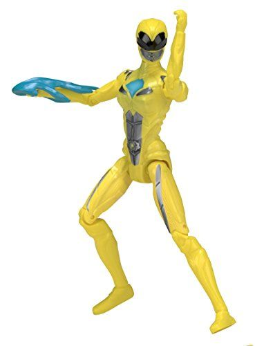 From 4.98 Power Rangers 42604 12.5 Cm Movie Yellow Ranger Action Figure