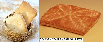 PAN COLISA O COLIZA O PAN GALLETA