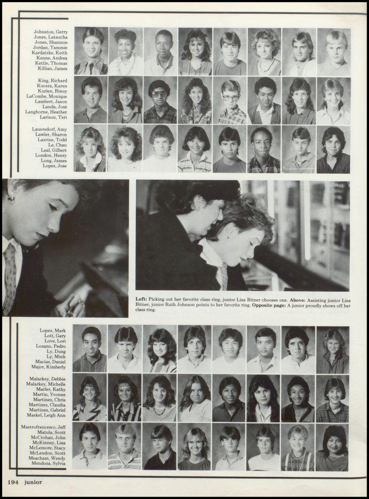 1986 South Houston High School Yearbook Via Classmates Com