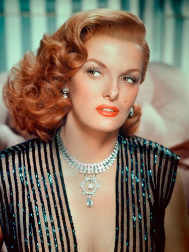 Jane Russell- 1955- This was the first famous person I was ever told I looked like. I was 16 and it was the doctor at planned parenthood. It impacted me enough that I still remember it vividly. Such glamour!!