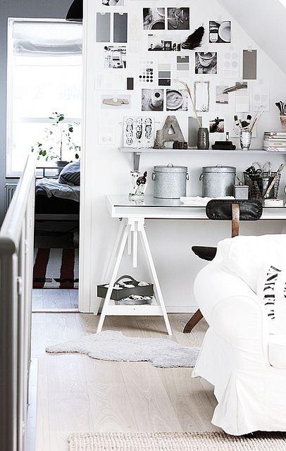 Handmade Home: A Quick Office Nook Transformation | decor8