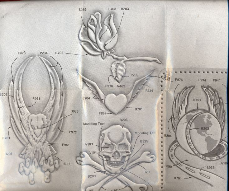 Leathercraft Project Patterns