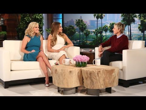 """Reese Witherspoon, Sofia Vergara discussing their movie """"Hot Pursuit on The Ellen Show - YouTube"""