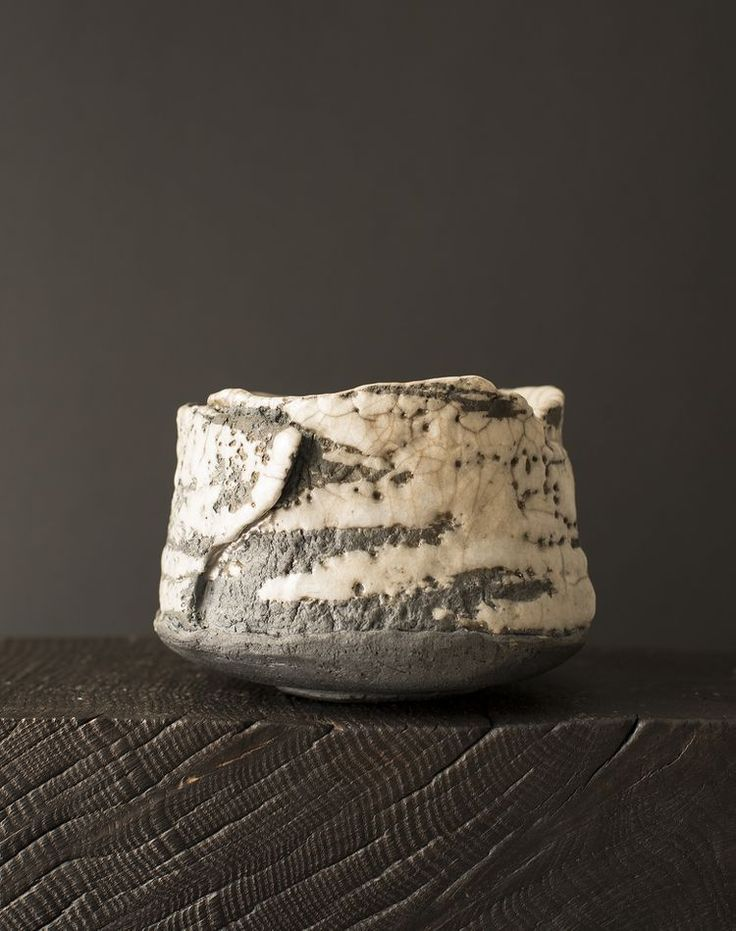 Tomoko Okuda, raku chawan — Oxford Ceramics