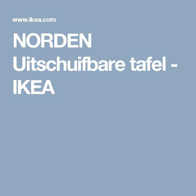 NORDEN Uitschuifbare tafel - IKEA