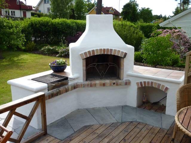 Patio Corner Fireplace