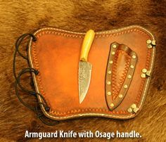 G. Fred Asbell Traditional Archery Hunting Knives Page