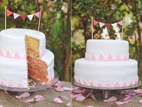 Rezept für zweistufigen Kuchen – Rezepte Backen