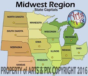 Midwest Region - Mr. L's 4th Grade - Home