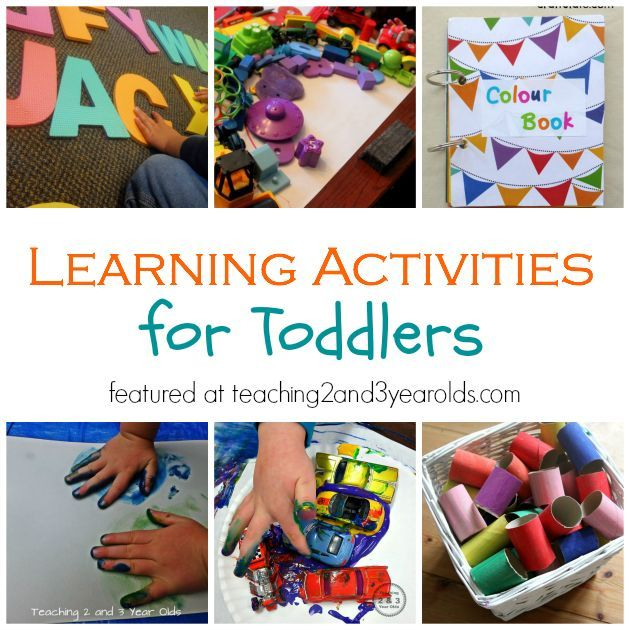 20 learning activities for toddlers learning activities for Educational crafts for toddlers