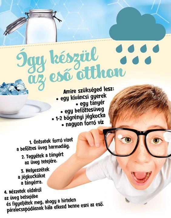 A kísérletezés az egyik legjobb dolog a világon! Próbáld ki Te is, hogy hogyan tudsz otthon esőt készíteni néhány nagyon egyszerű összetevőből! :) #tudomany #kiserlet #kreativ #diy #eso #idojaras #tesco #tescomagyarorszag
