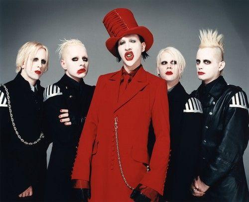 Manson. Ya know...being himself.