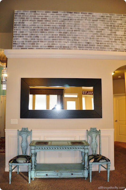 Tutorial How To Paint Faux Brick Paneling To Make It Look Old Finishes Pinterest How To
