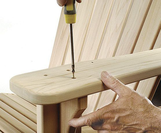 How to Build an Adirondack Lawn Chair - Plans for Building an Adirondack Chair - Popular Mechanics #AdirondackChair #ChairDIY