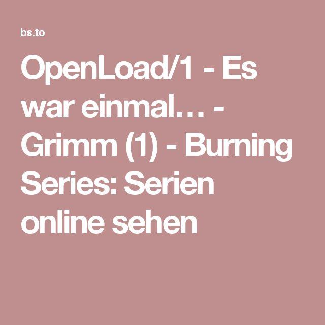 OpenLoad/1 - Es war einmal… - Grimm (1) - Burning Series: Serien online sehen