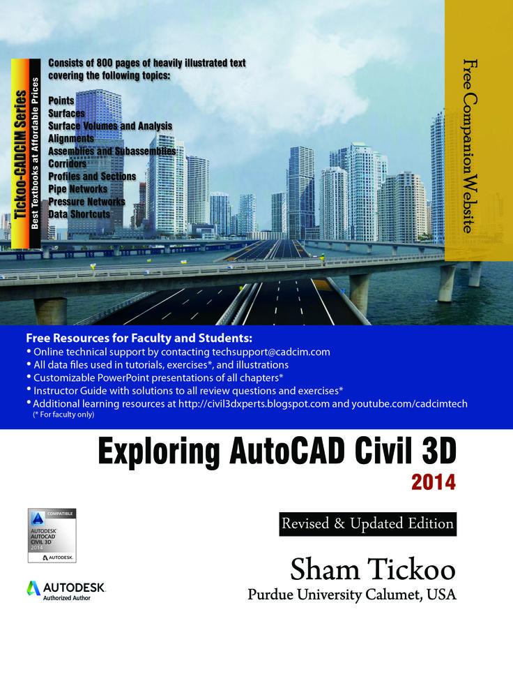 autocad civil 3d book pdf
