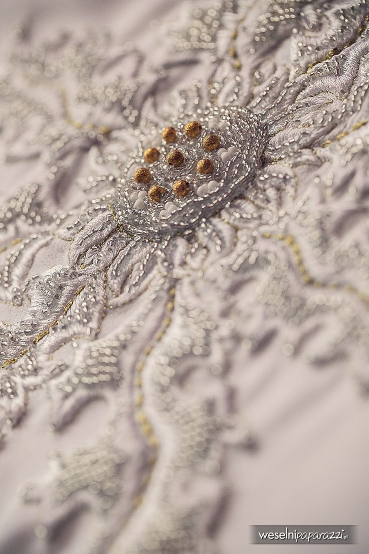 Detail from my wedding dress