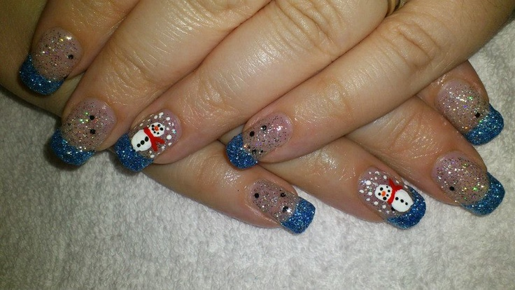 Christmas Nail Art By Jennifer Victoria Beeston