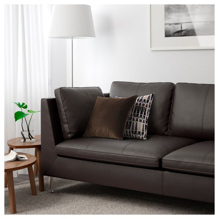 IKEA   STOCKHOLM Sofa Seglora Dark Brown