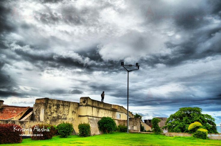 Inside Fort Marlborough Bengkulu #Bengkulu #Bencoolen #Historical #Heritage #Alesha