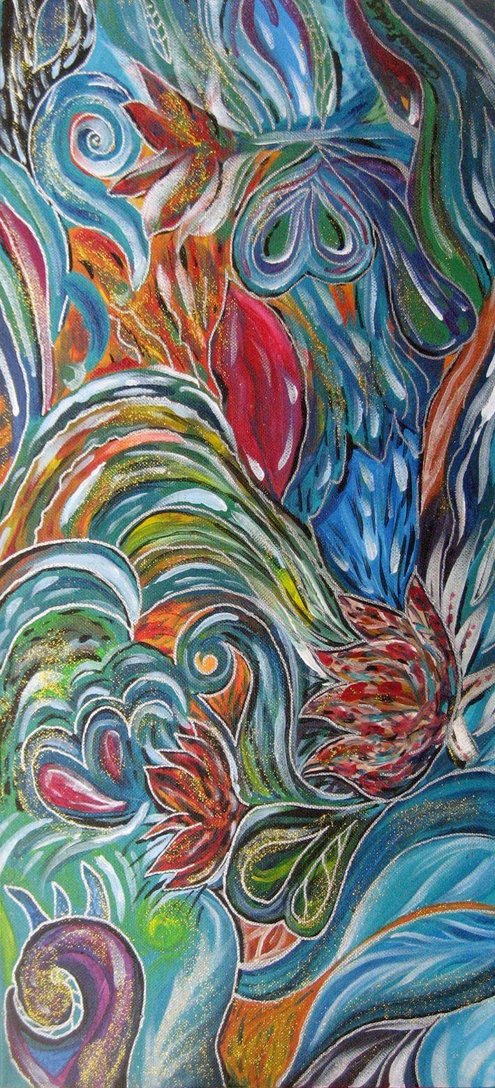 Famoso Oltre 25 fantastiche idee su Dipingere su tela su Pinterest  CE63