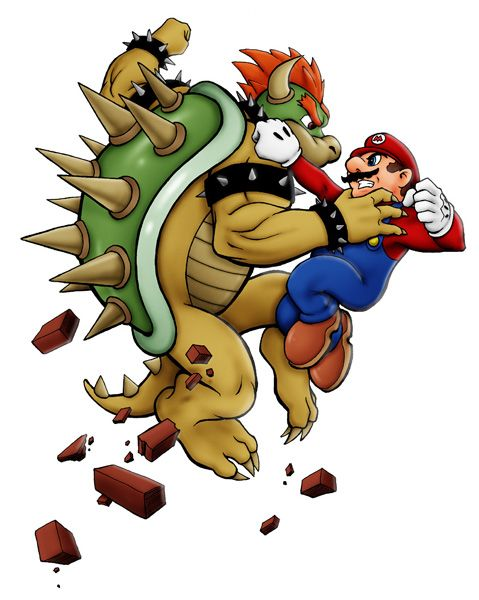 Mario Vs Bowser Tom Pollock Jr Video Game Stuff