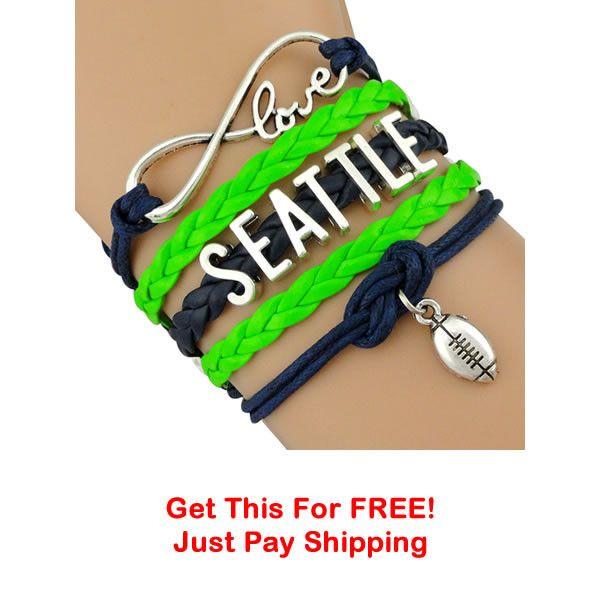 TODAY'S SPECIAL OFFER This week we have some Infinity Love SeattleFootball bracelets to giveaway. Limit 3 per order. Click the add to cart button to claim your