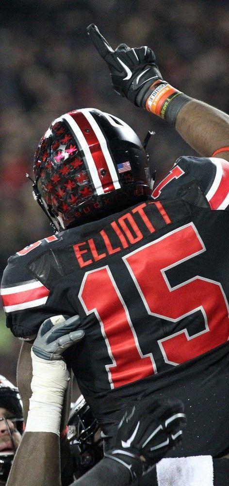 "Ezekiel "" Zeke "" Elliott #15 } **** Ohio State Football #GoBucks #Blackout"
