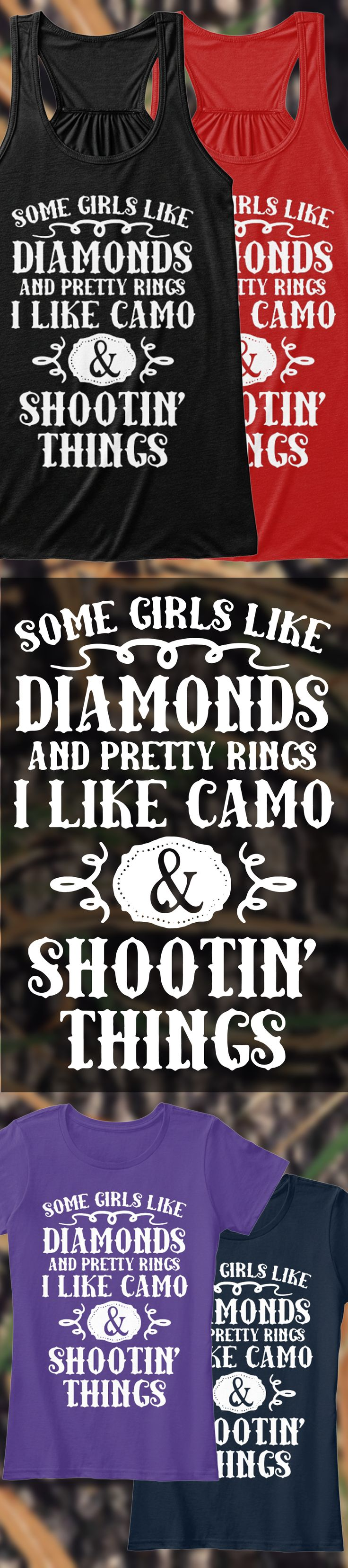 Real Girls Go Hunting - Limited Edition. Grab yours or gift it to a friend. You will both love it