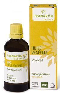 Huile Végétale Avocat Bio  Un classique dans une version haute qualité.  Prévoir des gommages réguliers sur grain de peau très serré sinon cette huile de pénétrera pas.  Parfaite en contour des yeux avec un peu d'aloe vera
