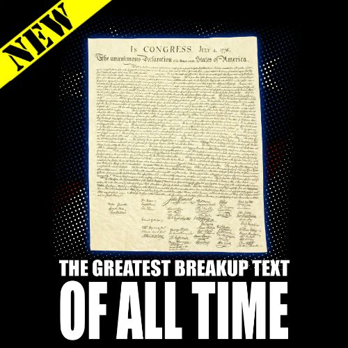 $10 Tank Top - The Greatest Breakup Text of All Time