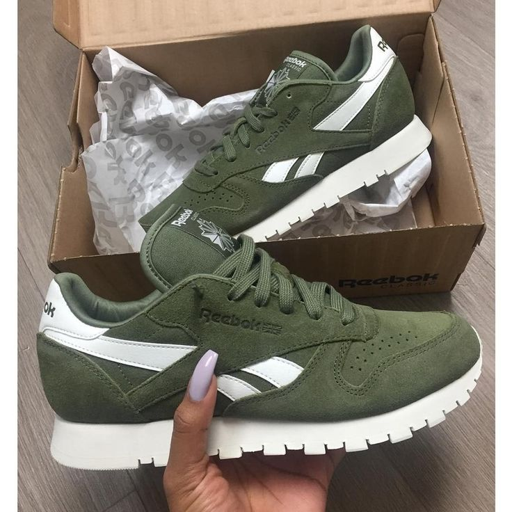 Image of Reebok Classic Suede 'Canopy Green'
