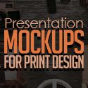 25 Premium Presentation Mockups for Print Design