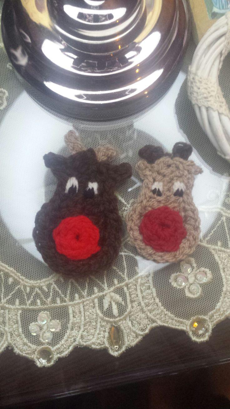 Crochet roudolf