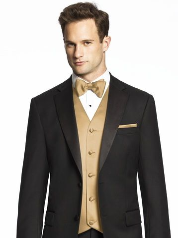 Something like this for the groomsmen...I'd like a little more satin or shine in the tux though. The color is whatever...it can be better.