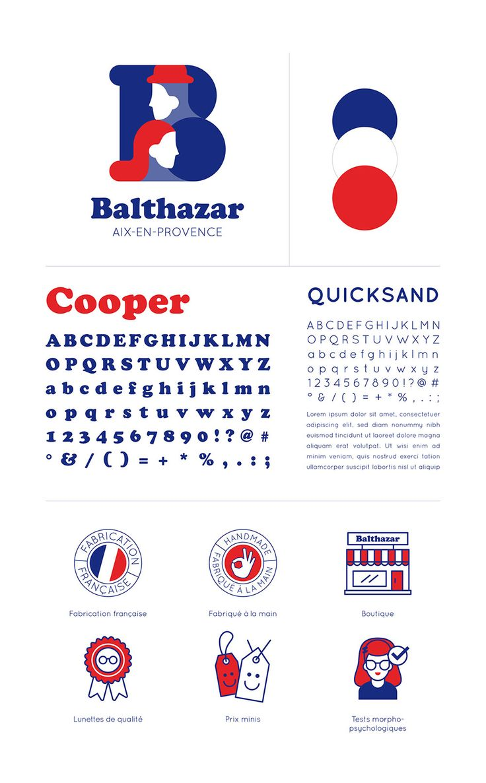 Branding and Packaging: Balthazar Eyewear