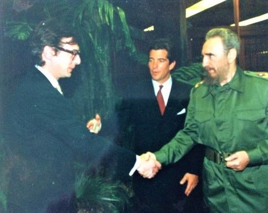 """""""John talked about his father only once when I worked for him, and that was in Cuba. 'Are you much the same height as your father?' Fidel Castro asked him soon after the two of them met in October 1997, during the 35th anniversary of the Cuban Missile Crisis. He and I, along with the photographer Herb Ritts and his assistant Matthew, had gone to Havana with the hope of getting an interview with Castro. The interview never materialised but we did have dinner with him, in a place built by the…"""