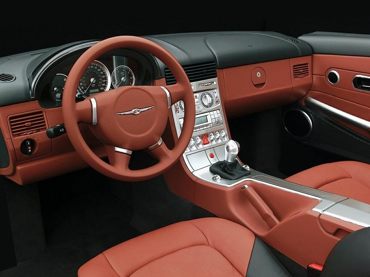 17 best ideas about chrysler crossfire on pinterest nice - 2004 chrysler crossfire interior ...