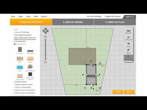 Plan Your Sprinkler System with the Orbit Sprinkler System Designer on…
