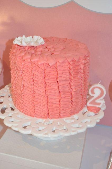 Ruffle cake #ruffle #cake