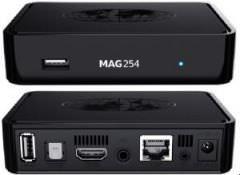 MAG 254 IPTV-BoxMAG 254 Box (original Infomir Mag254):Die MAG 254 ist die Königin unter den IPTV-Receivern. Schneller ist nur Ihre Nachfolgerin MAG256.Über den HDMI
