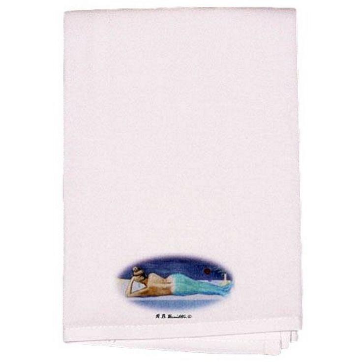 mermaidhomedecor - 2 Mermaid Hand Towels $23.98
